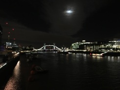 The view of Tower Bridge from London Bridge